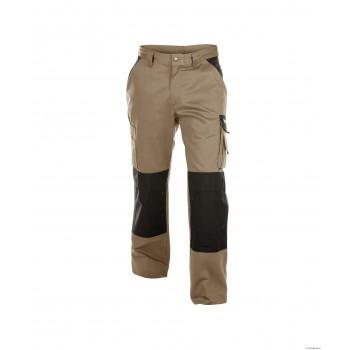 Pantalon BOSTON 245gr DASSY beige noire