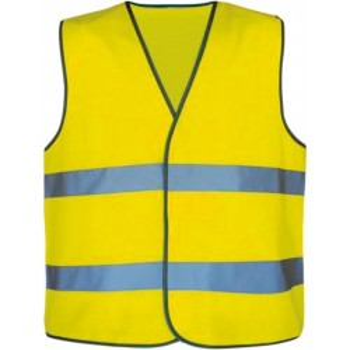 Materiel professionnel : GILET SECURITE FLUO MOTARD AVEC POCHETTE