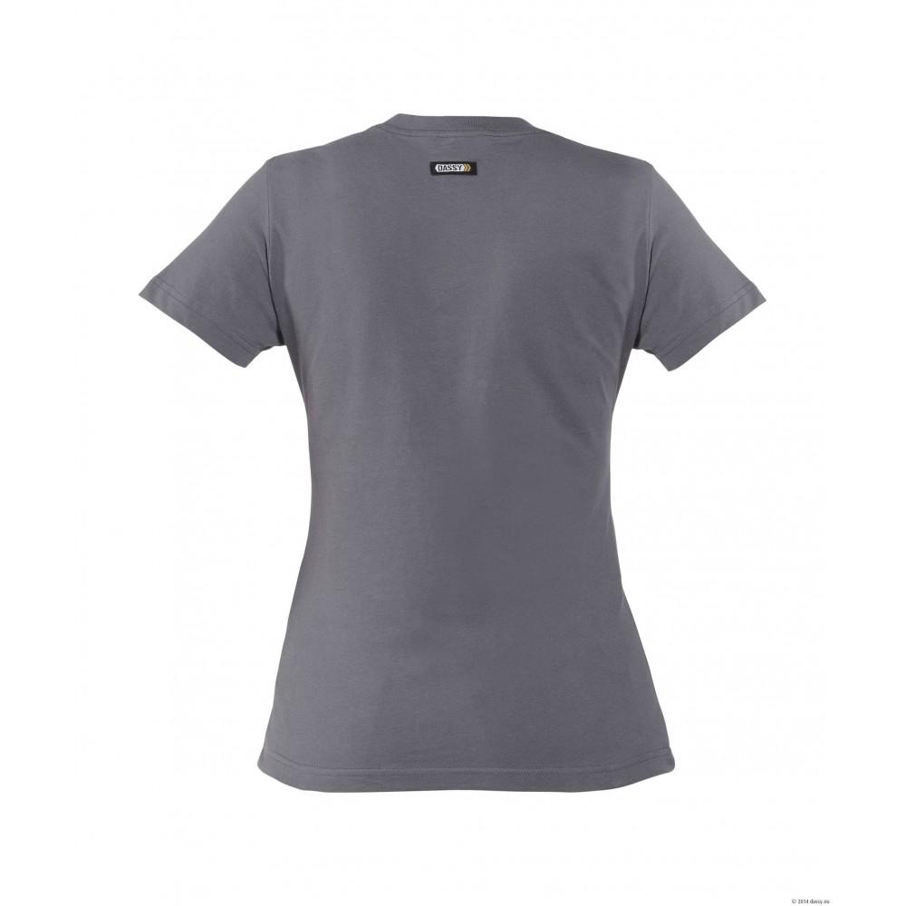 Tee-Shirt femme OSCAR 100% coton DASSY gris