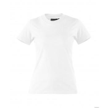 Tee-Shirt femme OSCAR 100% coton DASSY blanc