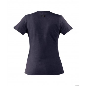 Tee-Shirt femme OSCAR 100% coton DASSY marine