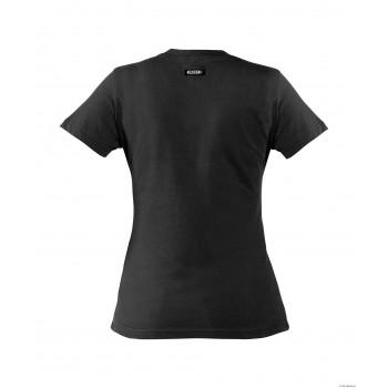 Tee-Shirt femme OSCAR 100% coton DASSY noir