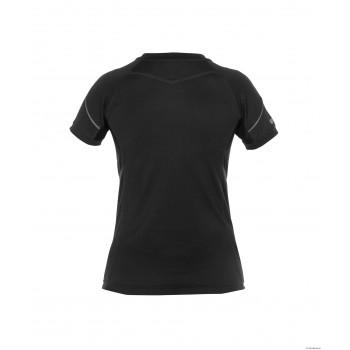Tee Shirt femme Confort Nexus 140 gr anti UV 5 noir