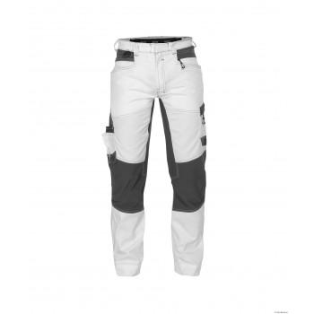 Pantalon de Travail Stretch HELIX peintre blanc gris DASSY I PB Securama