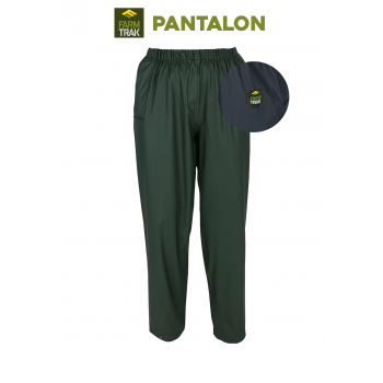 Pantalon de pluie AGRIHEALTH PU et polyester couleur verte