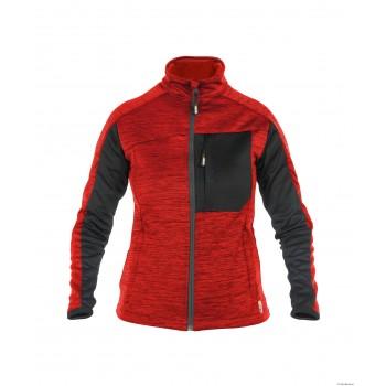 Veste polaire femme CONVEX WOMEN haut de gamme DASSY rouge