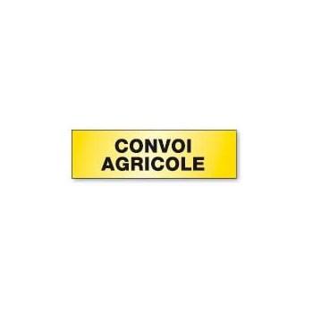 PANNEAU CONVOI AGRICOLE ALUMINIUM DOUBLE FACE (-30%)