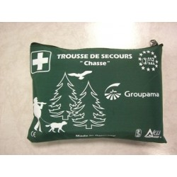 Secourisme : TROUSSE A PHARMACIE CHASSE