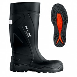 Vetements de travail : BOTTES DE SECURITE DUNLOP PUROFORT FULL SAFETY S5 VERTE
