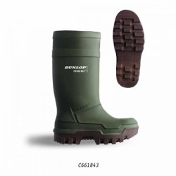 Bottes grand froid : DUNLOP PUROFORT S4
