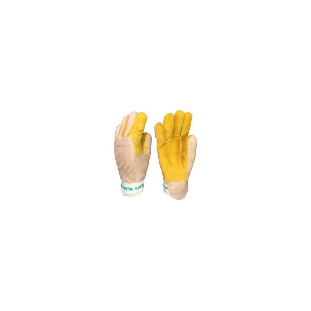 gants professionnels anti ecrasement a coquille
