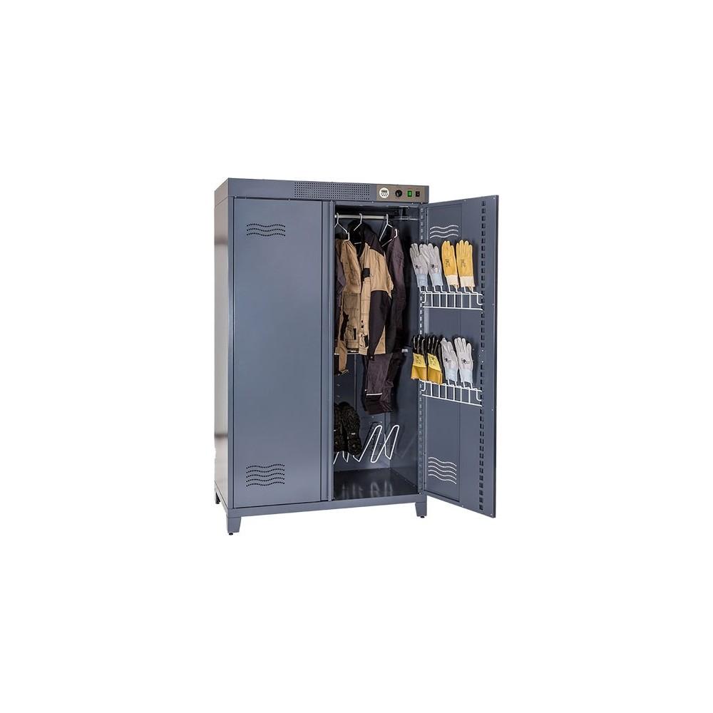 grande armoire de séchage pour 10 tenues professionnelles