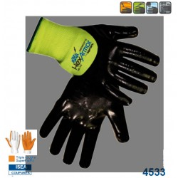 Gants anti piqure hexarmor 7082 enduction 3/4 nitrile 4533