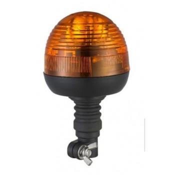 gyrophare globe agricole 12/24V tige flexible