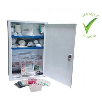 armoire a pharmacie complète 10 personnes