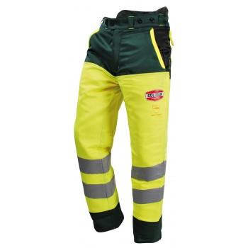 Pantalon forestier classe 3 haute visibilite solidur glow