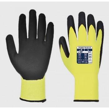 gants anti coupures haute visibilité jaune 4543