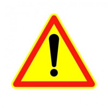 panneau danger triangulaire ak14 base 700