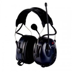 casque antibruit electronique actif et communicant LITECOM 3M PELTOR 32dB