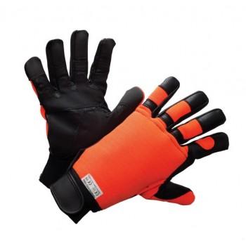 gants ANTICOUPURE FLUO MAIN GAUCHE CLASSE 0 4142