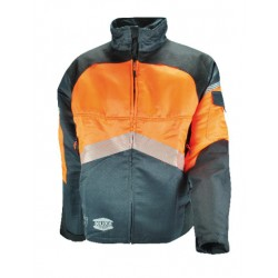 veste solidur authentic orange noire classe 1