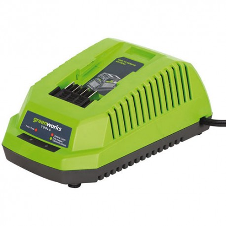 Espace vert : CHARGEUR UNIVERSEL POUR BATTERIE GREENWORKS 40V