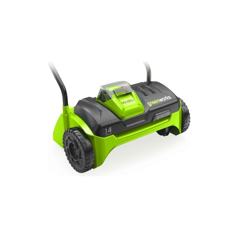 scarificateur greenworks sans fil