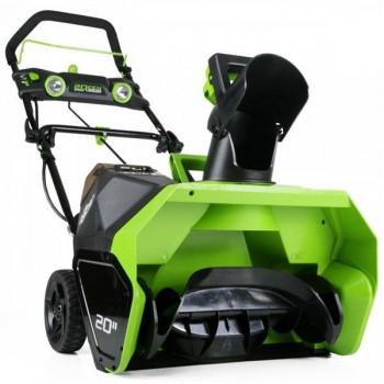 Espace vert : SOUFFLEUSE A NEIGE GREENWORKS 40V
