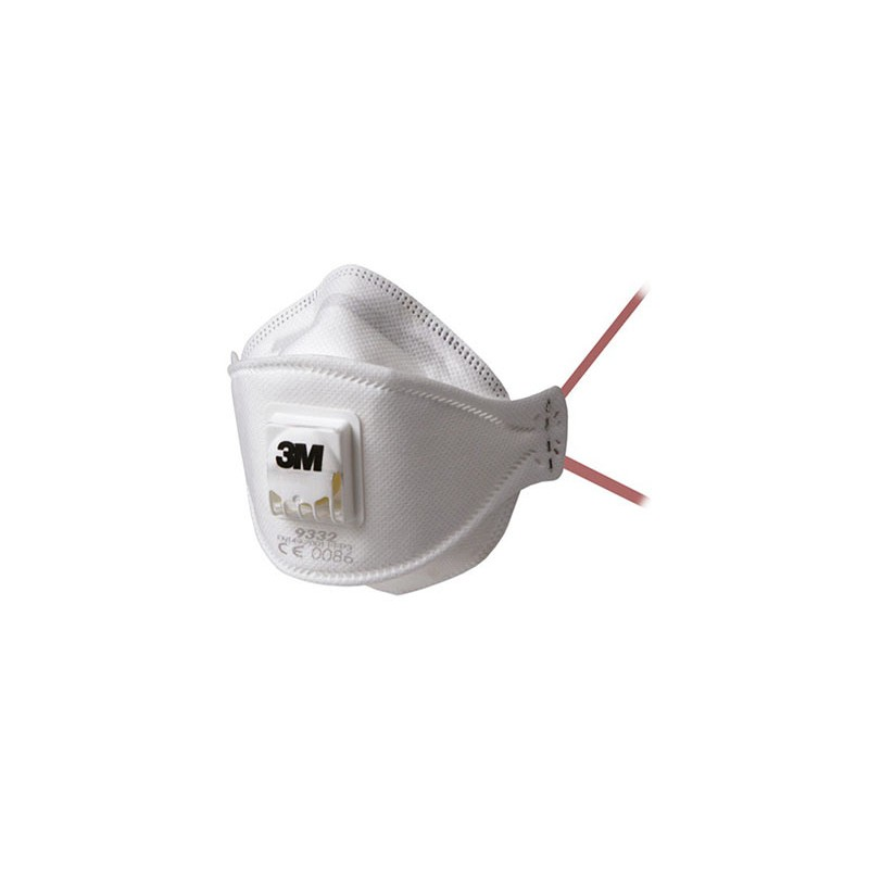 masque ffp3 anti poussi re 3m nrd jetable avec soupape. Black Bedroom Furniture Sets. Home Design Ideas