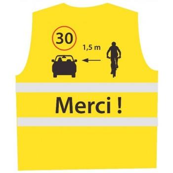 Haute visibilité : Gilet Cycliste