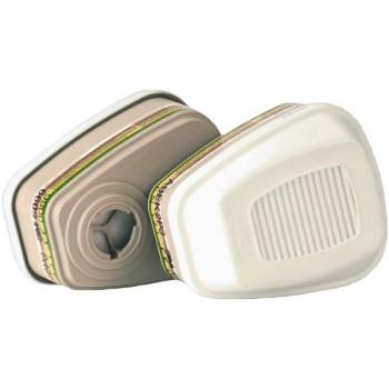 Masque professionnel : Kit de 2 filtres 3M ABEK1P3 pour masques Moldex 6000 & 7000