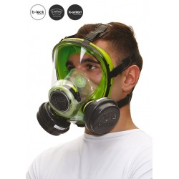 Matériel Professionnel : Masque complet BLS 5000 Silicone - Cartouche B-Lock