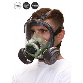 Matériel Professionnel : Masque complet BLS 5000 Thermoplastique - Cartouche B-Lock