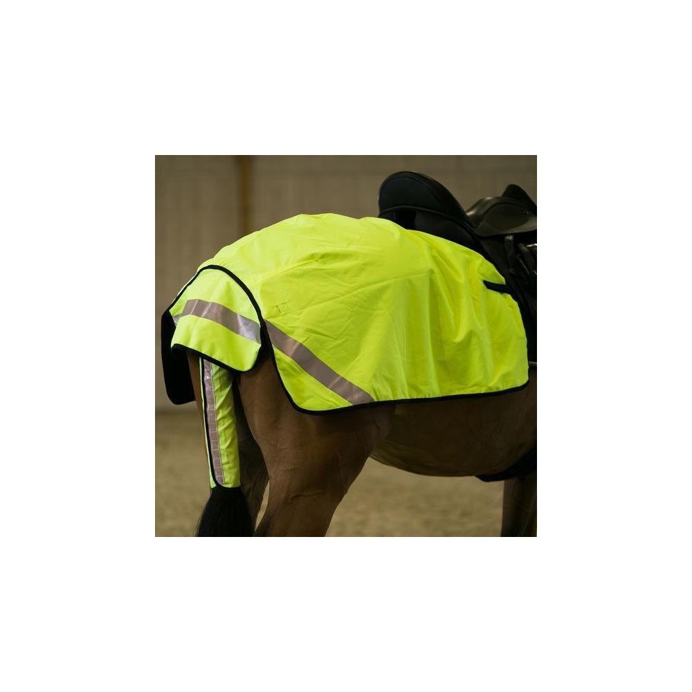 Couverture couvre-reins d'équitation haute visibilité