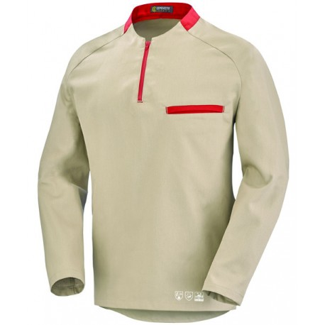 Polo manches longues phytosanitaire homme