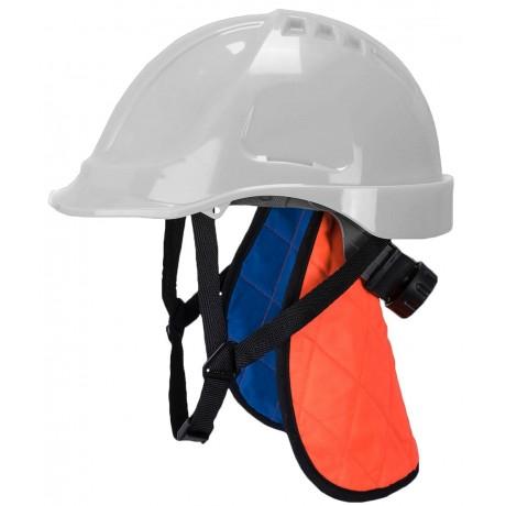 Couronne de refroidissement orange avec protège cou