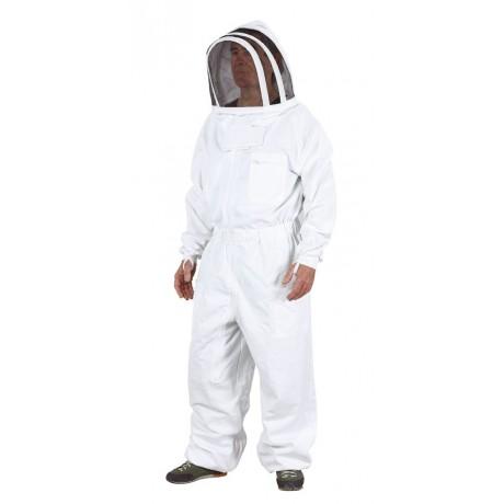 Combinaison apiculteur Pro51, coton sergé 300g