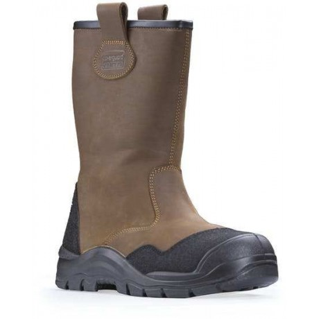 Bottes Grand Froid S3 cuir hydrofuge