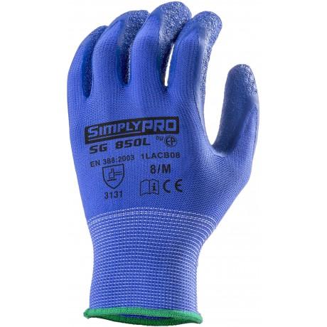 Gants professionnels nylon enduits latex 2121
