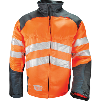 Veste HV orange GLOW anti coupure SOLIDUR