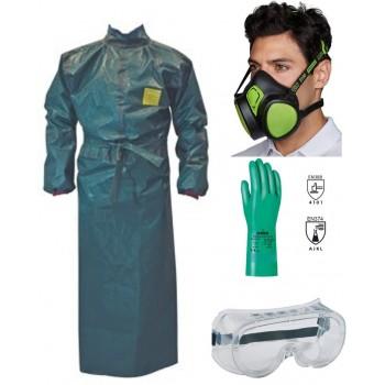 Kit protection phytosanitaire A2P3 tablier MICROGARD SECURAMA