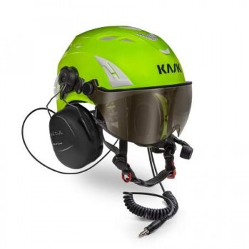 Casque communicant SUPERPLASMA HELITALK KASK VERT