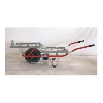 Brouette électrique PRO VITICULTURE motorisée freinée ZOETTE