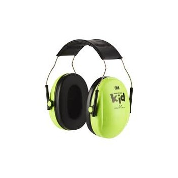 Casque antibruit junior enfant 27 dB KIDS PELTOR 3M