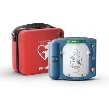 Défibrillateur HEARTSTART HS1 automatisé PHILIPS malette l Sécurama