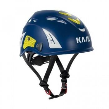 Casque PLASMA EQ EN 397 KASK l Sécurama bleu jaune
