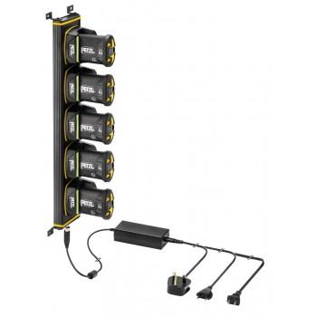 Rack de charge 5 ACCU 2 lampe DUO Z1 PETZL I Sécurama