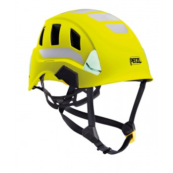 Casque jaune haute visibilité ventilé STRATO VENT HI VIZ PETZL I Sécurama