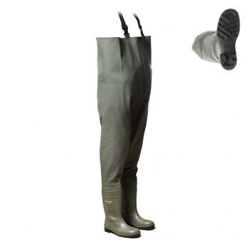 Waders de sécurite CHEST SAFETY PVC DUNLOP Securama