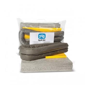 Kit Absorbant universel 35 Litres PIG® Essentials - sac clipsée PB SECURAMA